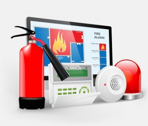 Access control - fire alarm